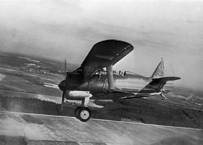 Polikarpov I-15, Soviet Fighter, 1935 Art Print by Ria Novosti