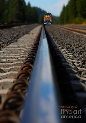 Photograph - Polished Rails by Patrick Witz