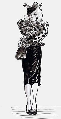 Polka Dots Art Print by Mel Thompson