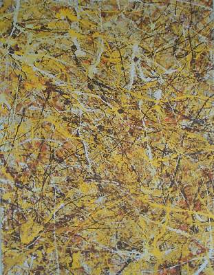 Painting - Pollock 2 by Robert Foss