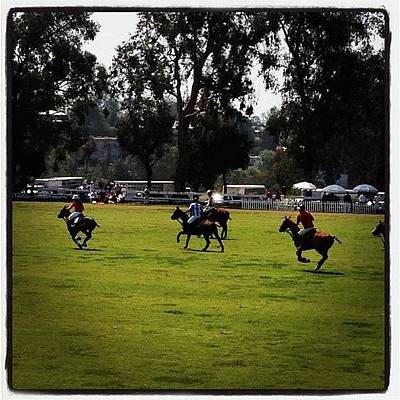 Horse Wall Art - Photograph - Polo At Will Rogers by Lana Rushing