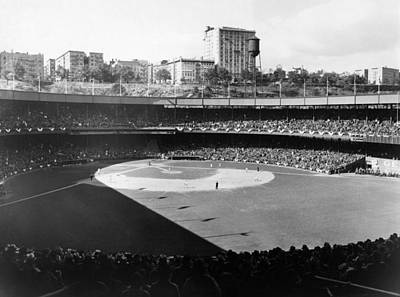 Polo Grounds, During The 1937 World Art Print by Everett