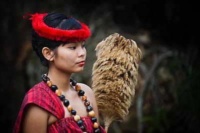 Polynesian Beauty Art Print by Ralf Kaiser