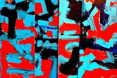 Polyptych    I Original by John  Nolan