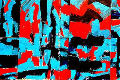Abstract Expressionism Painting - Polyptych   II by John  Nolan