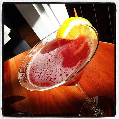 Martini Photograph - Pomegranate #martini by Jana Seitzer