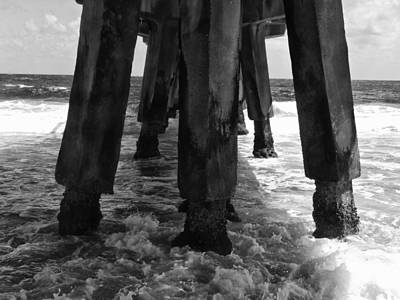 Photograph - Pompano Pier by Tom Bush IV
