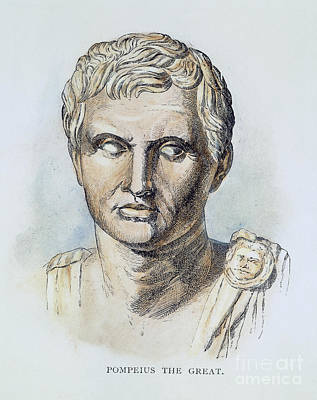 Pompey (106-48 B.c.) Art Print by Granger