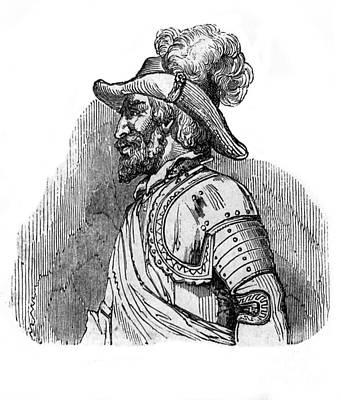 Colonial Man Photograph - Ponce De Leon, Spanish Explorer by Photo Researchers