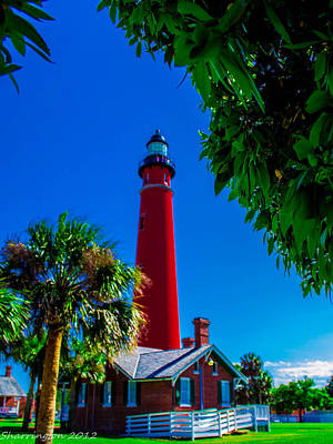Photograph - Ponce Inlet Lighthouse 1 by Shannon Harrington