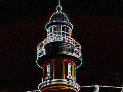 Ponce Inlet Lighthouse Art Print by Dennis Dugan