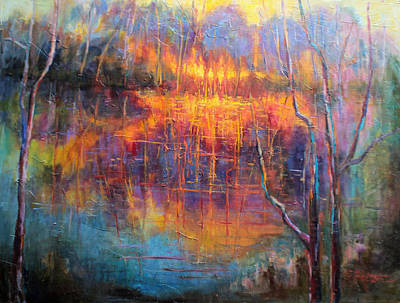 Pond Reflections Original