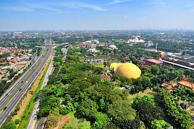 Pondok Gede, East Jakarta, Indonesia Art Print by TeeJe