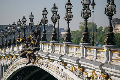 Pont Alexander IIi Art Print by Clarence Holmes