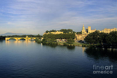 Well-known Photograph - Pont D'avignon Et Palais Des Papes. by Bernard Jaubert