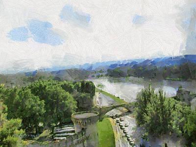 Photograph - Pont De St Benezet - Avignon by Paulette B Wright