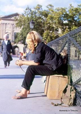Pont Des Arts Paris 1963 Print by Glenn McCurdy