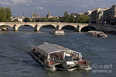 Pont Du Carroussel. Paris. France Art Print