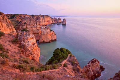 Lagos Photograph - Ponta Da Piedade Sunrise by Monica and Michael Sweet