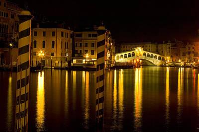 Photograph - Ponte Di Rialto by John Galbo