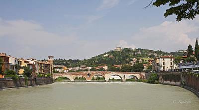 Photograph - Ponte Pietra by Cheri Randolph
