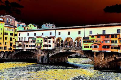 Photograph - Ponte Vecchio 5 by Allan Rothman