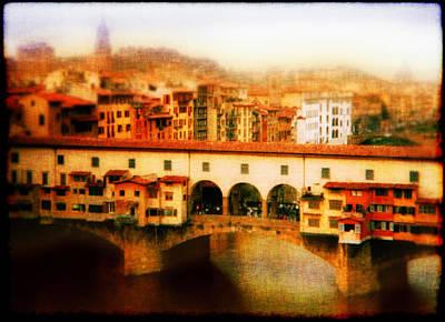 Ponte Vecchio Original by Li   van Saathoff