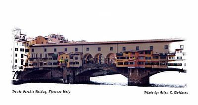Photograph - Ponte Vecchio S by Allan Rothman