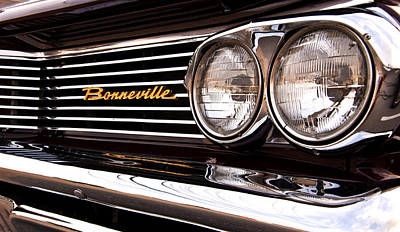 Photograph - Pontiac Bonneville by Glenn Gordon