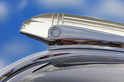 Street Rod Photograph - Pontiac Hood Ornament  by Mike McGlothlen
