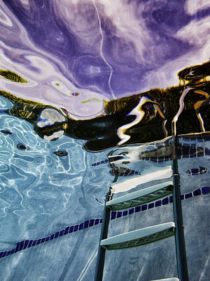 Trippy Photograph - Pool #9 by Mauricio Jimenez