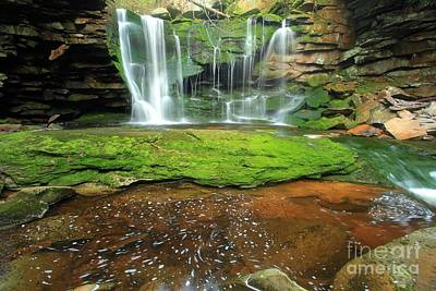 Photograph - Pool Below The Falls by Adam Jewell
