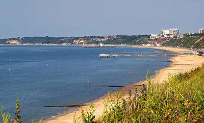 Photograph - Poole Bay - June 2010 by Chris Day