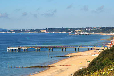 Photograph - Poole Bay by Chris Day
