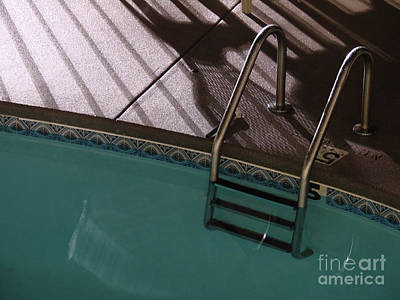 Photograph - Poolside by Mark Holbrook
