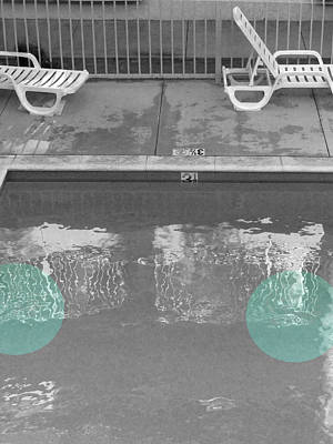 Photograph - Poolside Pair by Kathleen Grace