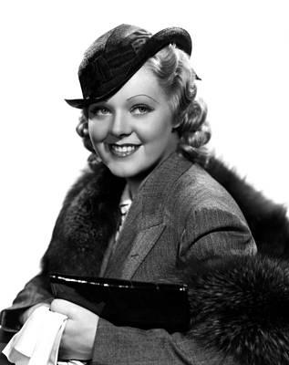 Publicity Shot Photograph - Poor Little Rich Girl, Alice Faye, 1936 by Everett