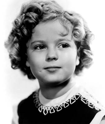 Colbw Photograph - Poor Little Rich Girl, Shirley Temple by Everett