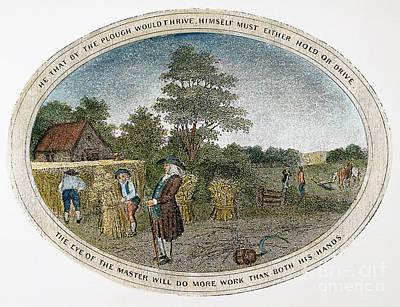 Poor Richard Illustrated Art Print by Granger