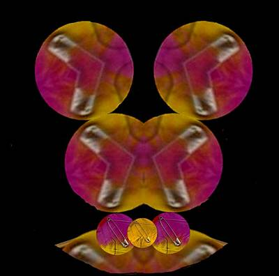 Figure Mixed Media - Pop  Art by Pepita Selles