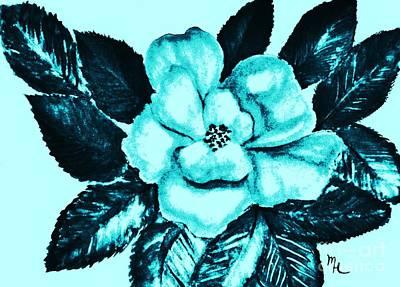 Pop Art Rose Art Print by Marsha Heiken