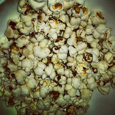 #pop #corn #afternoon #studying #so Art Print
