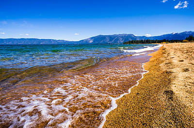 Photograph - Pope Beach Lake Tahoe California by Scott McGuire