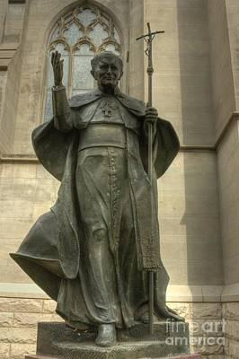 Photograph - Pope John Paul I I by David Bearden