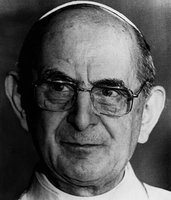 Ev-in Photograph - Pope Paul Vi, 1974 by Everett