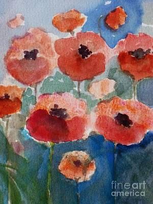 Poppies In June Art Print