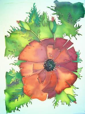 Poppy Mixed Media - Poppy Flower by Alena Samsonov