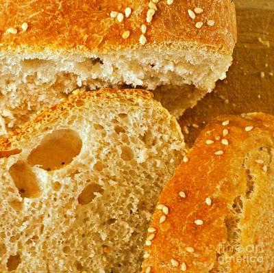 Poppy Seed Bread Art Print by Padre Art
