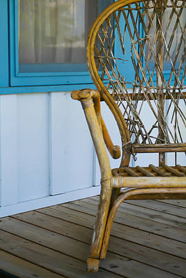 Porch Chair Art Print by Theresa Johnson
