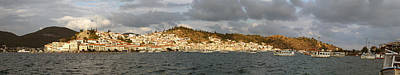 Photograph - Poros Island In Greece by Paul Cowan